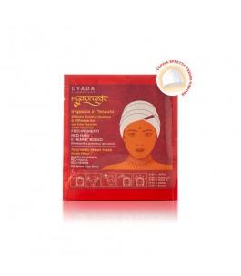 Hyalurvedic reflective fabric hair mask - red Hair - Gyada Cosmetics | Yumibio