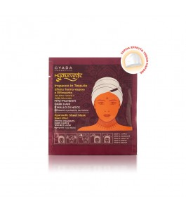 Hyalurvedic reflective fabric hair mask - dark Hair - Gyada Cosmetics | Yumibio