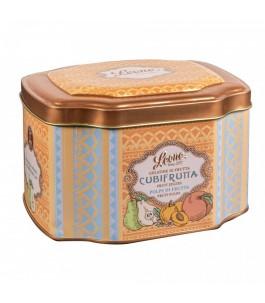 Box with Jelly Cubifrutta-Pulp-candies Leone | Yumibio