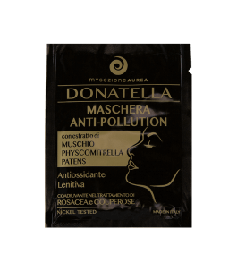 Donatella - Maschera Viso Monodose Anti Pollution - MySezione Aurea   Yumibio