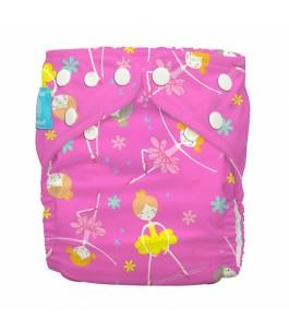 Washable Diaper One Size-Diva Ballerina Pink-Charlie Banana | Yumibio