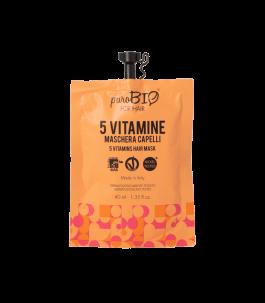 Maschera alle 5 Vitamine - Purobio Cosmetics | Yumibio