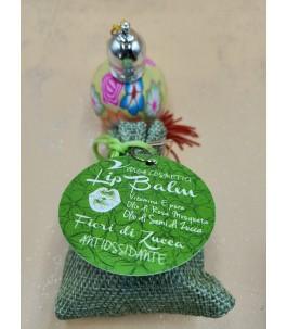 Lip Balm antioxidant - pumpkin flowers-Volga Cosmetics | Yumibio