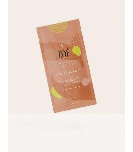 Power Full C-masque en tissu énergisant-Zoè Cosmetics | Yumibio