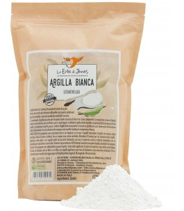 Argilla Bianca 250 gr - Le erbe di Janas | Yumibio