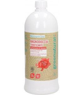 Cardamom and Ginger toning bath 1 LT-Green Natural | Yumibio