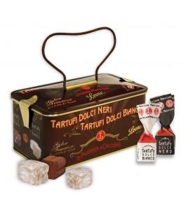 Casket of assorted truffles-candies Leone | Yumibio