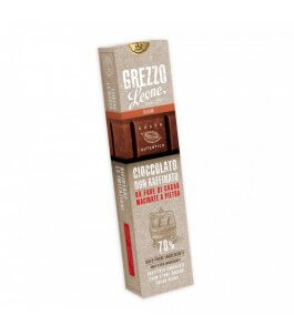 Unrefined raw chocolate-Gusto Rhum-candies Leone | Yumibio