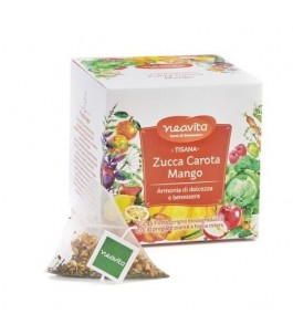 Filterscrigno-citrouille, carotte et Mangue-Neavita | Yumibio