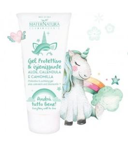 Protective and sanitizing Gel with Tea Tree, Mint and Neem-Maternatura | Yumibio
