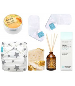 Full kit Zero Waste Baby-diaper and relaxation