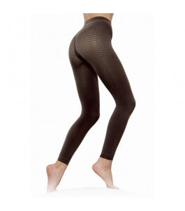 Anti-Cellulite Micro-Massage Leggins Black-Solidea | Yumibio