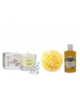 Box Love-Body and shower candle