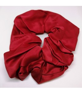 Fabric hair tie - Red
