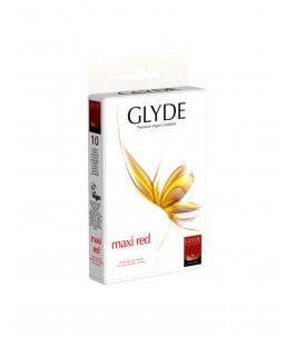 Vegan Condoms - Maxi Red