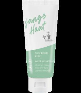 Maschera all'Argilla Verde per Pelle Giovane - Bioturm | Yumibio
