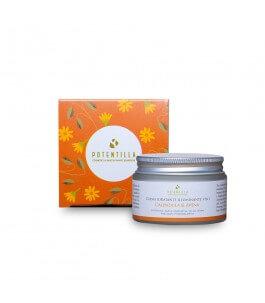 Crema Viso Idratante e Illuminante con Avena e Calendula 50 ml - Potentilla | Yumibio