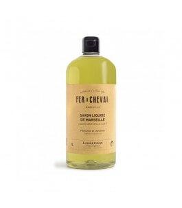 Sapone Liquido di Marsiglia con Olio d'Oliva 1 LT - Fer à Cheval | Yumibio