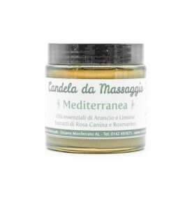 Candela da Massaggio Mediterranea - Antos Cosmesi | Yumibio