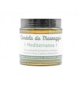 Massage candle Mediterranean