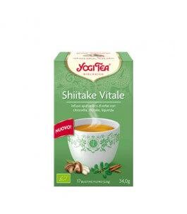 Infuso Shiitake Vital - Bustine - Yogi Tea   Yumibio