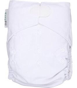 Couche bébé lavable blanche