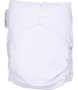 White Washable Baby Diaper