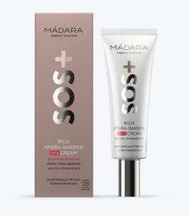 Barrier Moisturizing Face Cream-SOS Rich Hydra-Barrier Cica-Madara |Yumibio