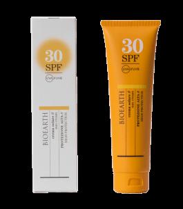 La crème solaire SPF 30