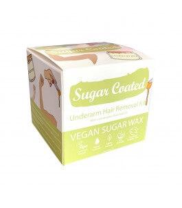 Kit ceretta ascelle e braccia con olio essenziale di citronella - Sugar coated | Yumibio