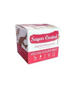 Kit ceretta gambe con olio essenziale rosa canina - Sugar coated | Yumibio
