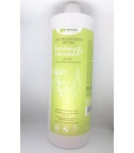 Detergente Intimo Vegan Bardana e Calendula 1 LT - La Saponaria | Yumibio