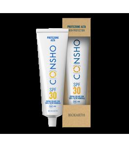 CONSHO Crema Solare SPF 30 - Bioearth | Yumibio