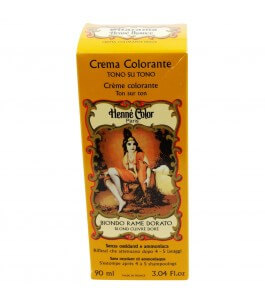 Henna Cream-Copper Blonde Golden