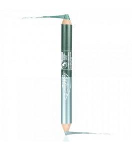 Plated Eye DUO-Night - Kajal Green Teal + eye Shadow Emerald Green