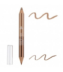 Pencil Duo Eyeshadow Bronze Copper + Golden Beige