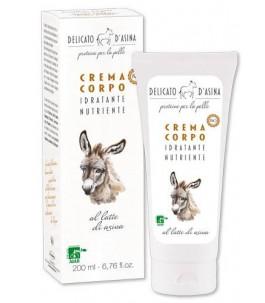 Body cream with Donkey Milk