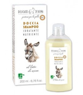 Shower gel and Shampoo to the Milk Of a Donkey