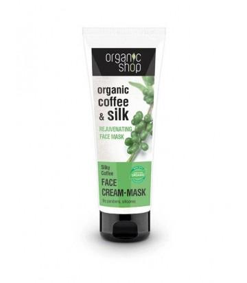 Maschera Viso Rivitalizzante Caffè e Proteine della Seta