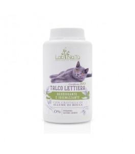 Talco Naturale Antiodore per la Lettiera del Gatto