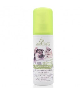 Lotion is Natural for the cleaning of Ears of Dogs and Cats