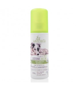 Lotion is Natural for the cleaning of the Eyes of Cats and Dogs