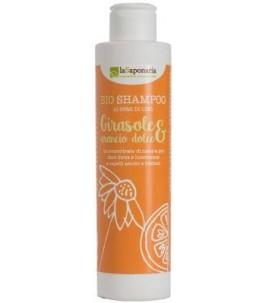 Shampooing de Tournesol et à l'Orange - La Saponaria|YumiBio