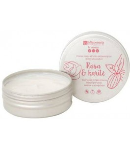 Hand Cream Rose Karite - The Saponaria|YumiBio