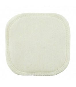Quadrato struccante in cotone