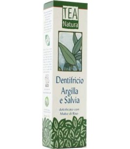 Dentifricio Argilla e Salvia - Tea Natura|Yumibio