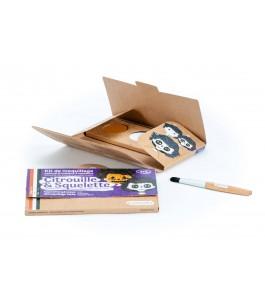 Makeup kits for Children Pumpkin and Skeleton