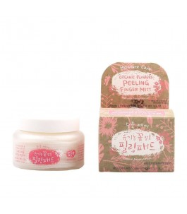 Exfoliating scrub with Extracts of Flowers Fermented