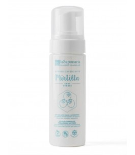 Cleansing Mousse With Mirtilla - The Saponaria|YumiBio