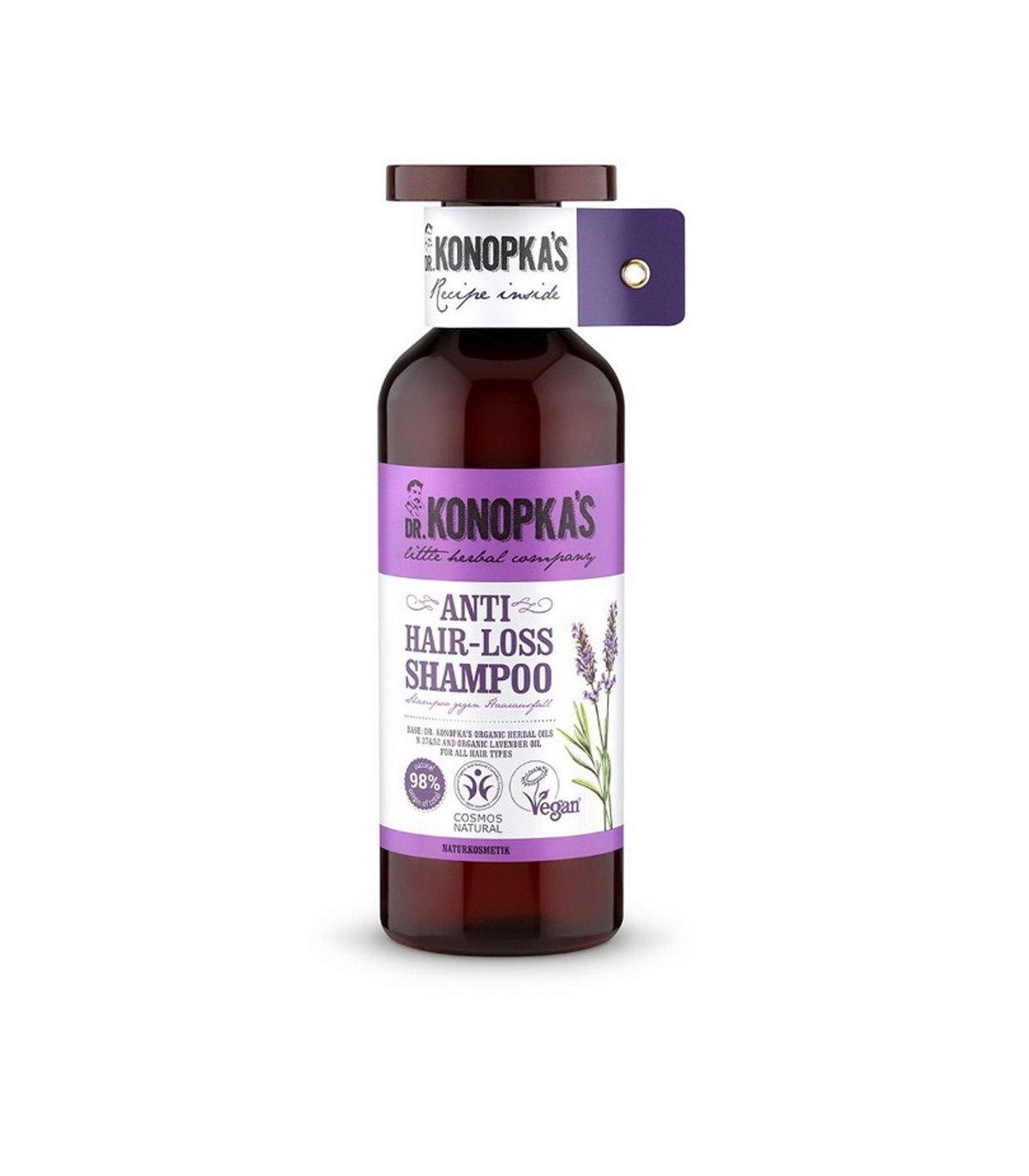 Natural Anti Hair Loss Shampoo